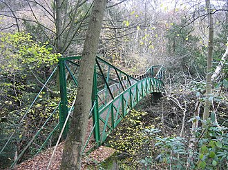 Castle Eden Dene - Gunners Pool Bridge in Castle Eden Dene