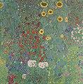 Gustav Klimt - Bauerngarten mit Sonnenblumen - 3685 - Österreichische Galerie Belvedere.jpg