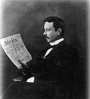 Västerbottens-Kuriren - Rosén owned this newspaper