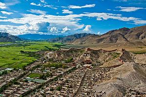 Bakhtiyar Khilji's Tibet campaign - Image: Gyantse