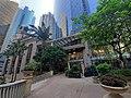 HK 上環 Sheung Wan 永樂街 Wing Lok Street 中遠大廈 Cosco Tower 新紀元廣場 Grand Millennium Plaza garden October 2019 SS2 02.jpg