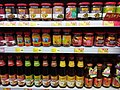 HK Sheung Wan 上環 皇后大道西 Queen's Road West 百匯商場 Broadway Plaza 惠康超級市場 Wellcome supermarket glass bottled sauce July 2019 SSG 03.jpg