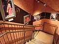 HK Victoria Peak Tower 香港杜莎夫人蠟像館 Madame Tussauds Hong Kong May-2014 - staircase interior Miss Yeung CW photos.JPG