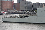 HMCS Iroquois (DDG 280) at Port of Hamburg stern 1.jpg