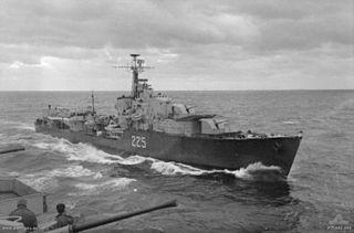 HMCS <i>Algonquin</i> (R17) Canadian navy destroyer ship