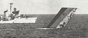 HMS Göteborg sinking