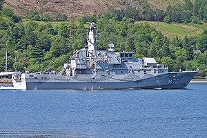 Swedish Navy - ''Koster''-class mine countermeasure vessel