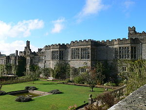 Richard Vernon (speaker) - Haddon Hall, Derbyshire: photograph by Eirian Evans