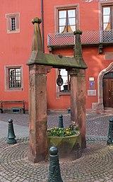 Haguenau well place Thierry.jpg