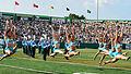 Halftime show at Yulman Stadium at Tulane University.jpg