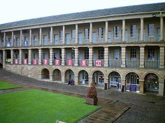 Piece Hall - The Piece Hall in 2009