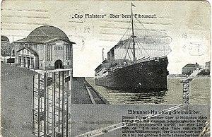 SS Cap Finisterre - Image: Hamburg Elbtunnel