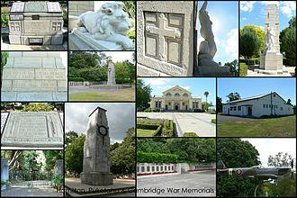Cambridge, New Zealand - Image: Hamilton Puketaha & Cambridge War Memorials