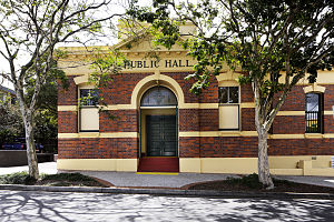 Hamilton, Queensland - Hamilton Town Hall, 2011