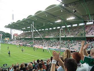 Gerhard Hanappi Stadium - Image: Hanappi Stadion Süd