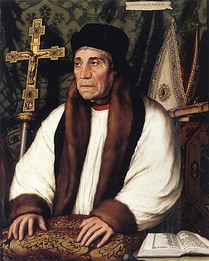 Submission of the Clergy - William Warham, the Archbishop of Canterbury, had to respond to the articles.