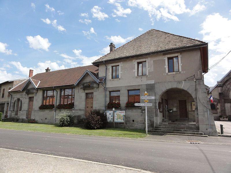 Harbouey (M-et-M) mairie - école