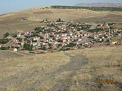 Harman Yerinden Köyün genel görünüşü - panoramio.jpg