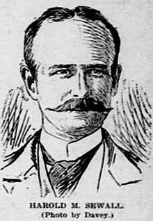 Harold M. Sewall, 1899 newspaper sketch.jpg