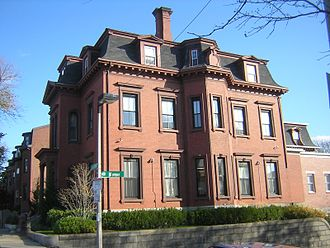 Harrison Loring House - Image: Harrison Loring House South Boston MA 03