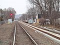 Hartford Line second track construction in Wallingford, December 2016.JPG