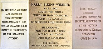 Widener Library - Image: Harvard University Widener Library Tablet Montage