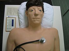 Photo of Harvey medical simulator