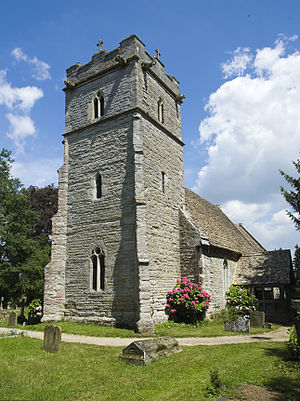 Parish - Hasfield parish church in England