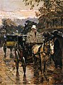 Hassam - hackney-carriage-rue-bonaparte-also-known-as-fiacre-rue-bonaparte.jpg