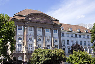 University of Innsbruck - Main building of the University of Innsbruck