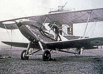 Hawker Hart - Audax of 26 Squadron in 1934