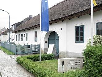 Rohrau, Austria - Haydn's birth home in Rohrau, now a museum