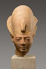Head of King Amenmesse Wearing the Blue Crown MET 34.2.2 EGDP011841.jpg