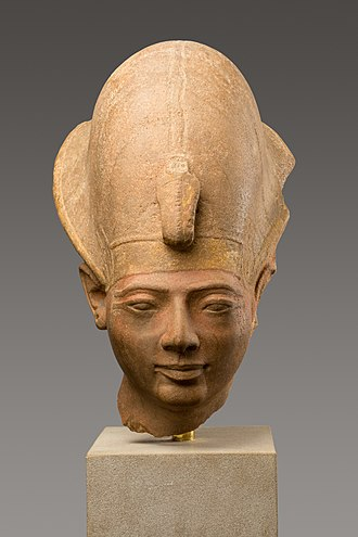 Amenmesse - Head from a statue of Amenmesse, Metropolitan Museum of Art