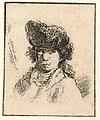 Head of an young man wearing a hat PK-P-126.630.jpg
