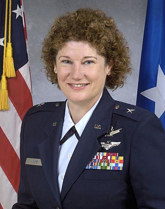 Susan Helms - Helms as a brigadier general in the U.S. Air Force