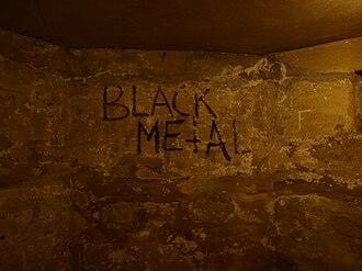 Early Norwegian black metal scene - The basement of Helvete