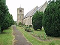 Hengoed with Gobowen Parish Church - geograph.org.uk - 188849.jpg