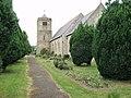 Hengoed with Gobowen Parish Church - geograph.org.uk - 188849.jpg