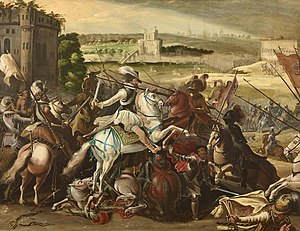 Battle of Arques - Henri IV at Arques