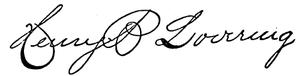 Henry B. Lovering - Image: Henry B. Lovering signature