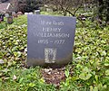 Henry Williamson grave Georgeham 2018.jpg
