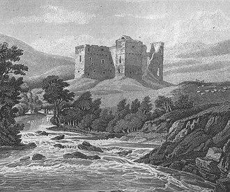 Hermitage Castle - Hermitage Castle in 1814.