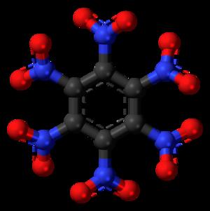 Hexanitrobenzene - Image: Hexanitrobenzene 3D balls