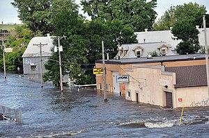 MINOT, North Dakota — High water as in Minot, ...