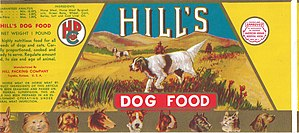 Hill's Pet Nutrition - Hill's Dog Food can label
