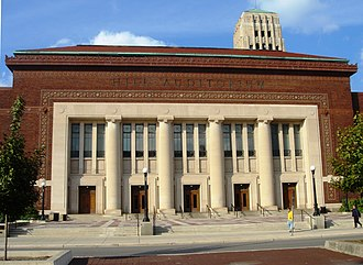 University of Michigan Men's Glee Club - In 2002, the club performed a joined concert in Hill Auditorium with the university's Women's Glee Club and that of Smith College