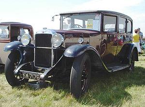 Hillman - Fourteen 1929, 2-litre 4-cylinder