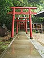 Hirosaka Inari Shrine (廣坂稲荷) in Ishiura Shrine (石浦神社) - panoramio.jpg