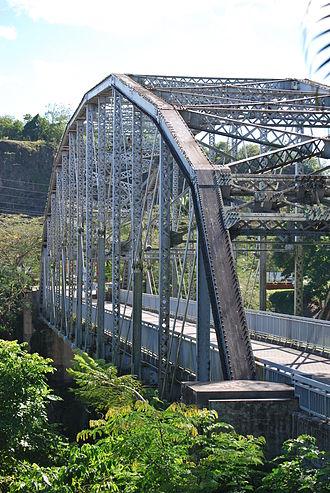 Trujillo Alto, Puerto Rico - Historic steel bridge in Trujillo Alto on the PR-181